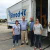 Annual shred event diverts over two tons of paper from landfill