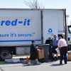 University Archives Coordinates Another Successful Free Shred Event
