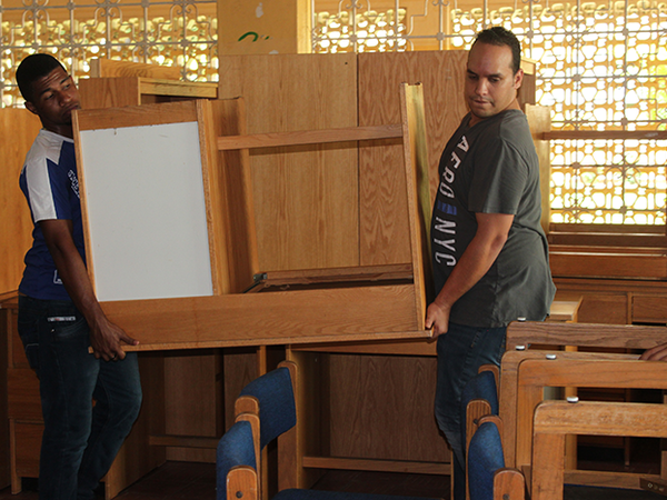 In the Spirit of Giving - Notre Dame Furnishes Seven Different Countries