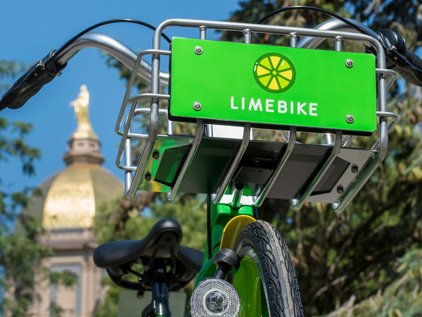 LimeBike presents app, equipment upgrades, including new three-speed bicycles