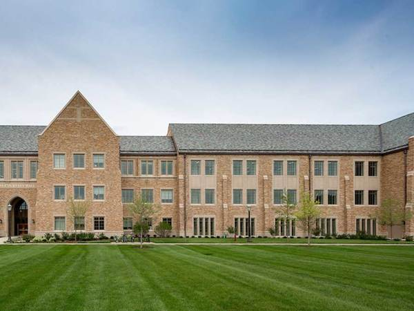 Notre Dame earns LEED Gold certification for McCourtney Hall