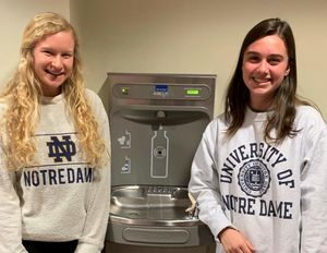 2019 Water Bottle Filling Station Debartolo Hall